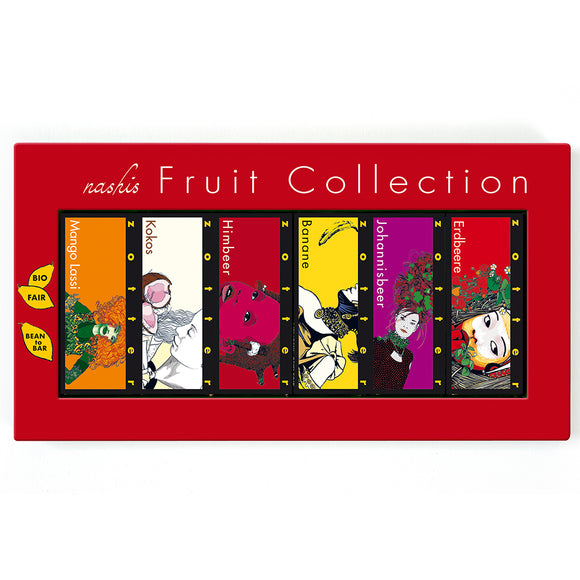 Nashis Fruit Collection 12x7g by Zotter