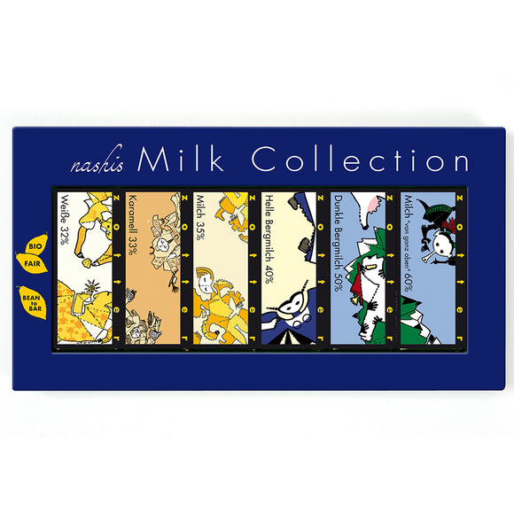 Nashis Milk Collection 12x7g by Zotter
