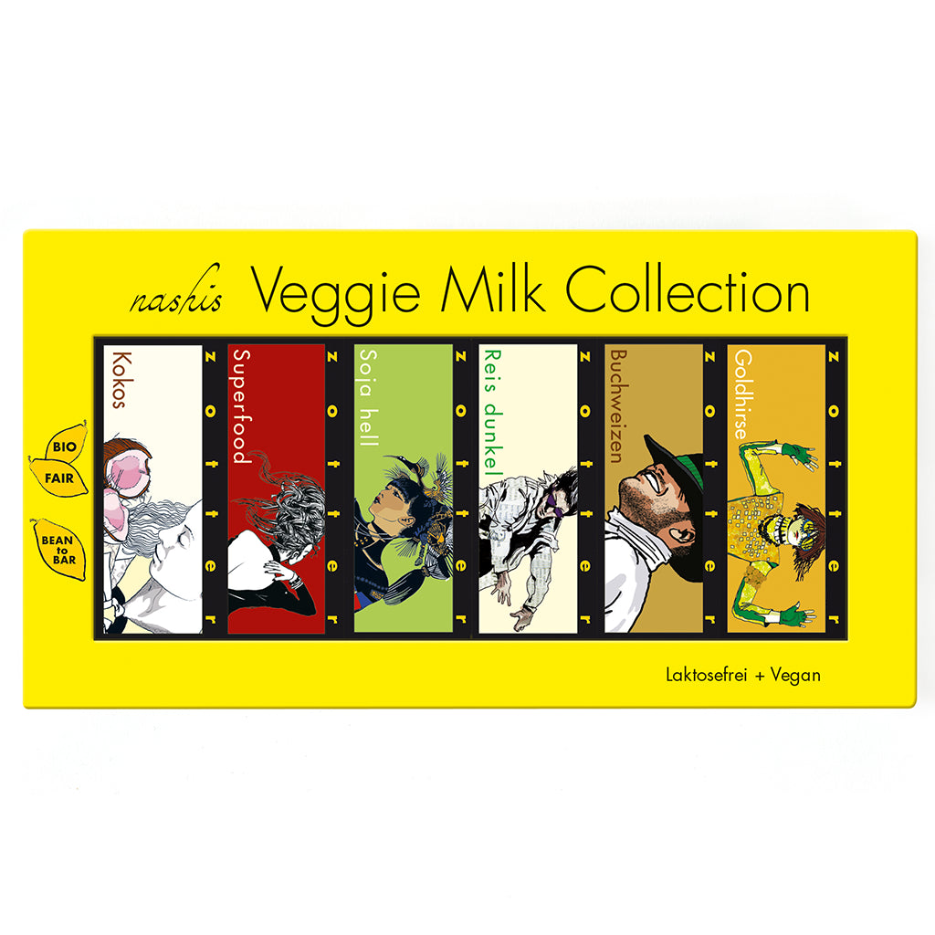 Nashis Vegan Collection 12x7g by Zotter