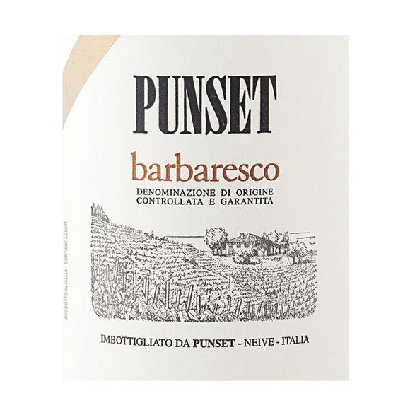 Barbaresco Basarin DOCG 2010 Punset