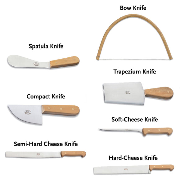 Deluxe Cheese Knife Set (set of 7) by Coltelleria Berti