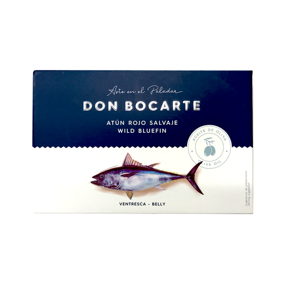 Wild Bluefin Tuna Belly from Barbate 215g by Don Bocarte
