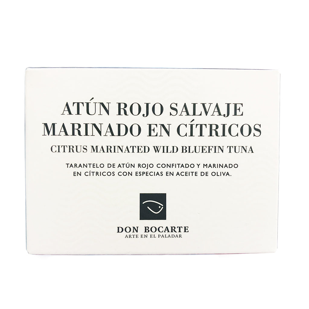Wild Bluefin Citrus Marinated Tuna 120g