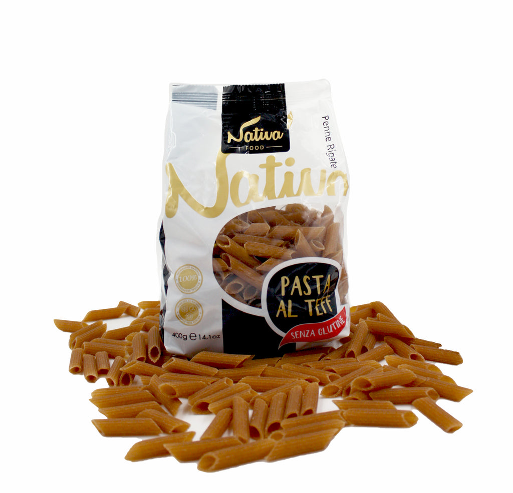 Gluten-Free Teff Penne 400g by Nativa Food