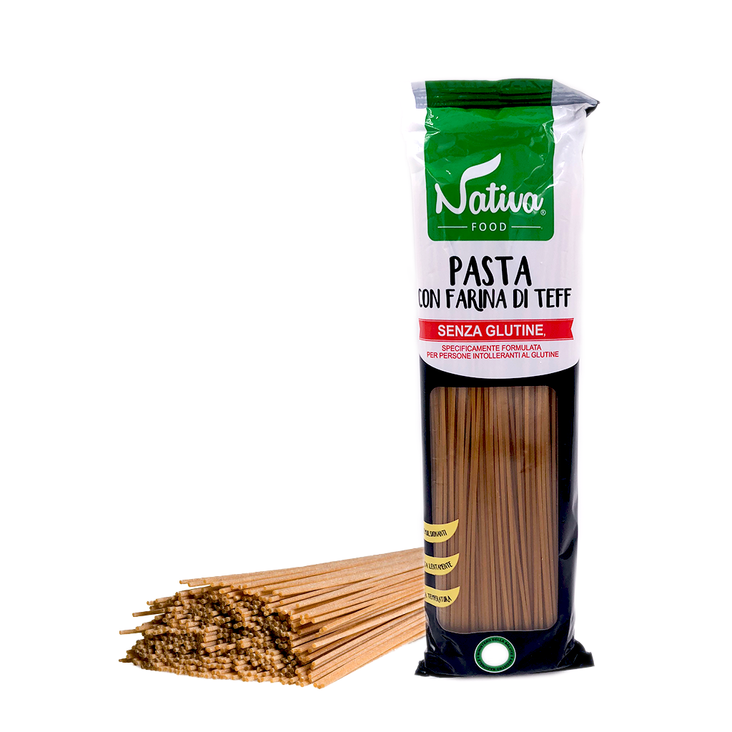 Gluten-Free Teff Spaghetti 400g by Nativa Food