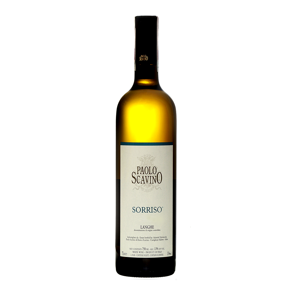 Langhe Bianco Sorriso DOC 2018 750ml by Paolo Scavino