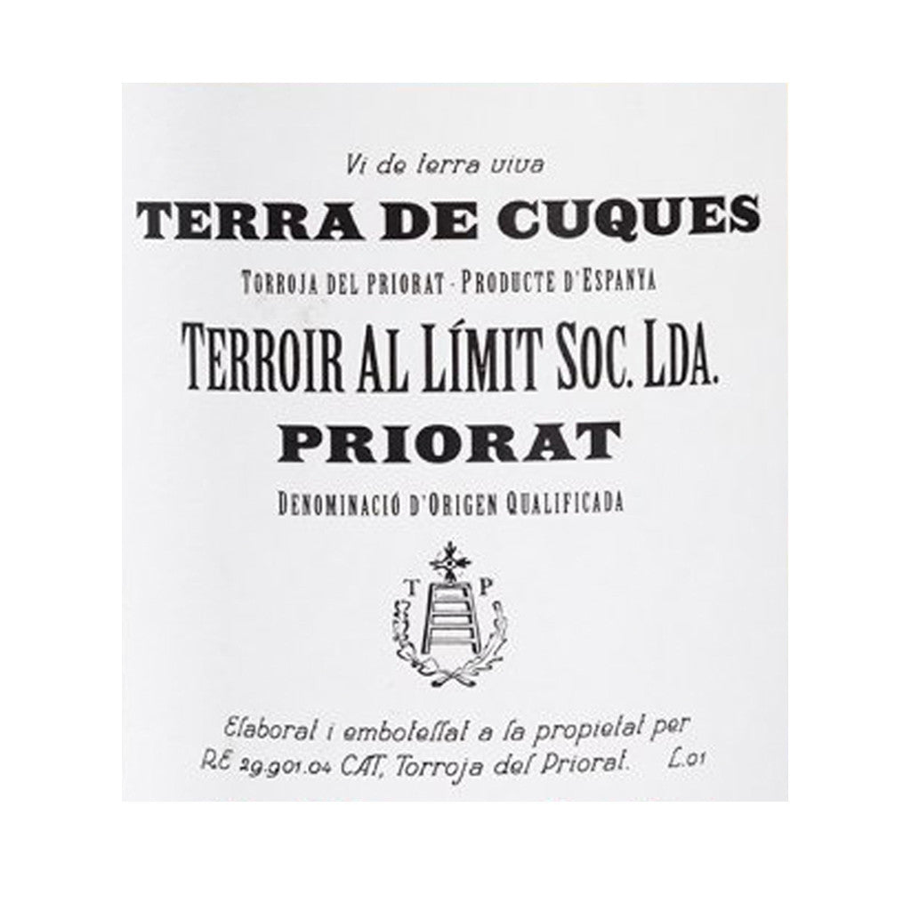 Terroir Al Limit Terra de Cuques Label
