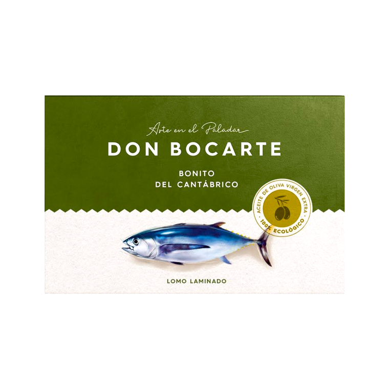 White Tuna in Organic Olive Oil 160g by Don Bocarte