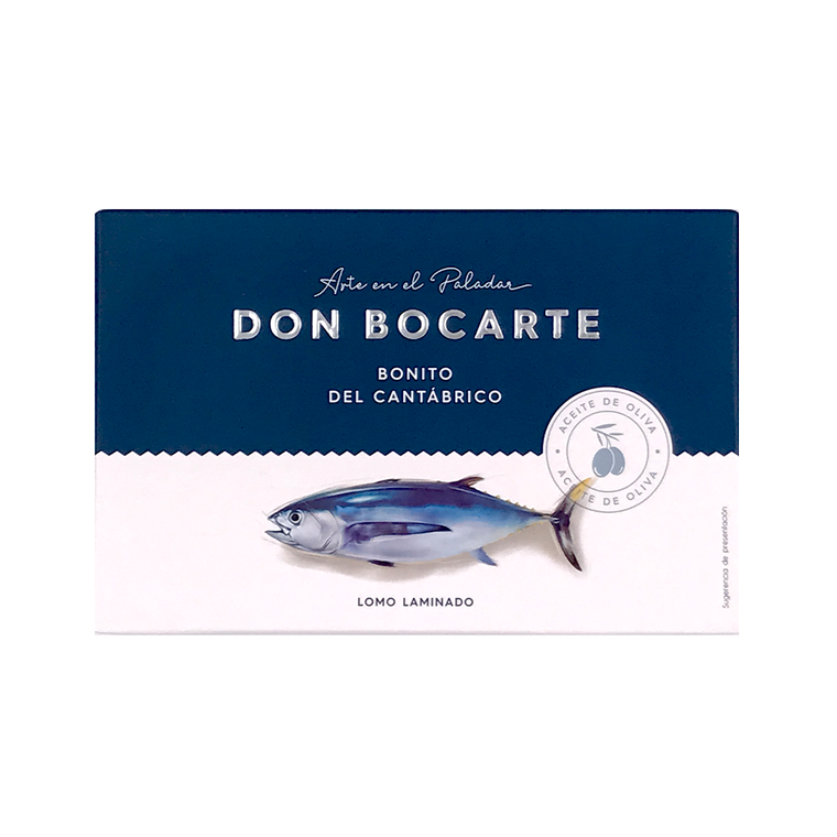 White Tuna in Olive Oil 160g by Don Bocarte