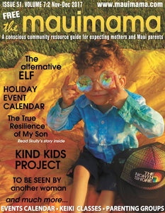 The Alternative Elf -Article via Maui Mama Magazine