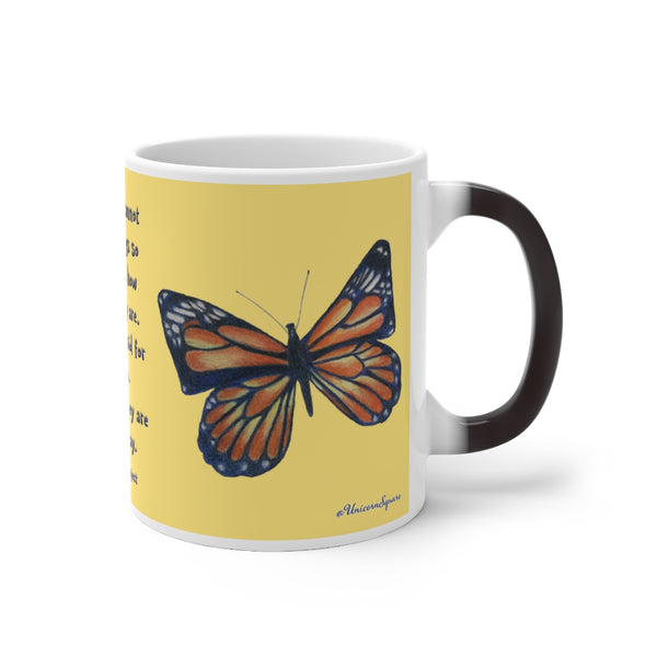 The Butterfly Project ~ Color Changing Mug - Unicorn Square