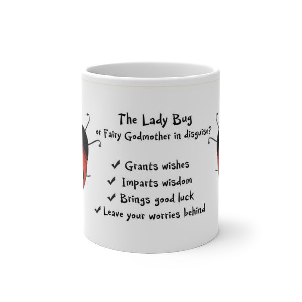 The Lady Bug or Fairy godmother in Disguise? Color Changing Mug - Unicorn Square