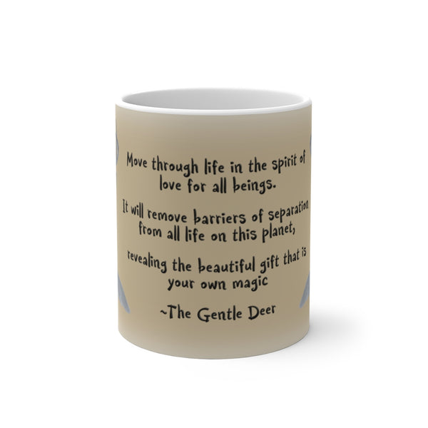The Gentle Deer Color Changing Mug - Unicorn Square