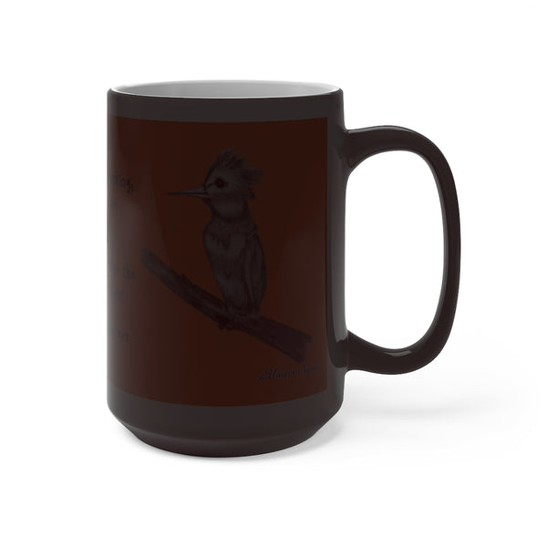 Wise Woodpecker ~ Color Changing Mug - Unicorn Square