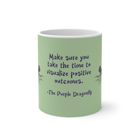 The Purple Dragonfly ~ Color Changing Mug - Unicorn Square
