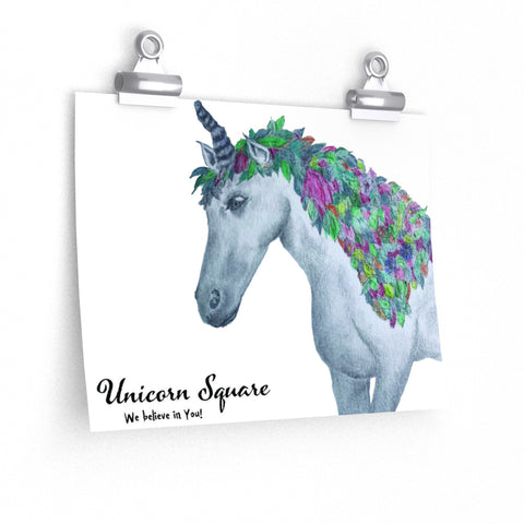 Fall Unicorn by the Magical Creature Sketch Artist - Unicorn Square