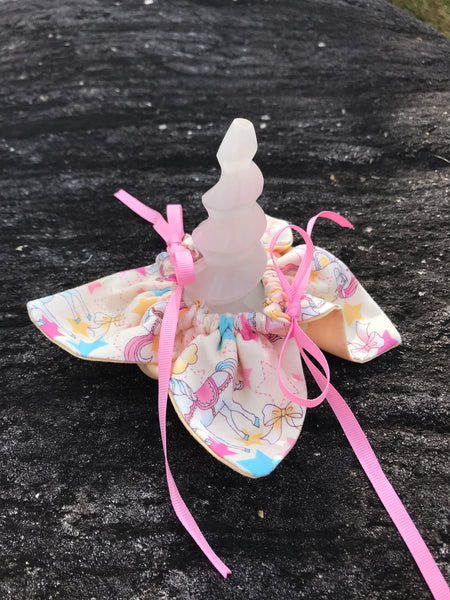 Unicorn Horn ~ Unicorns & Stars filled with Dried Lavender - Unicorn Square