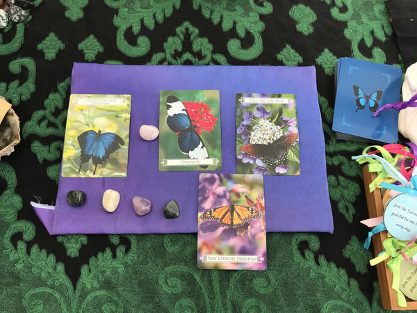 Intuitive Fairy Oracle Card and Crystal Reading ~ Private Phone or Zoom Session