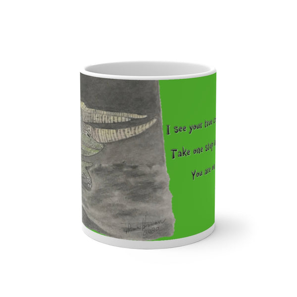 The Jackson Chameleon ~ Color Changing Mug - Unicorn Square