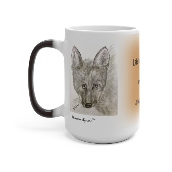 The Light-Hearted Fox Color Changing Mug