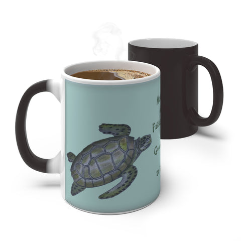 The Turtle Fairy ~ Color Changing Mug - Unicorn Square