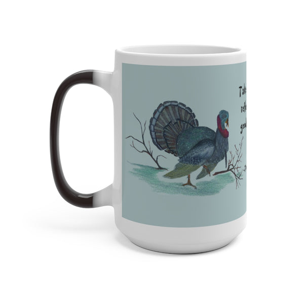 The Turkey Oracle ~ Color Changing Mug - Unicorn Square