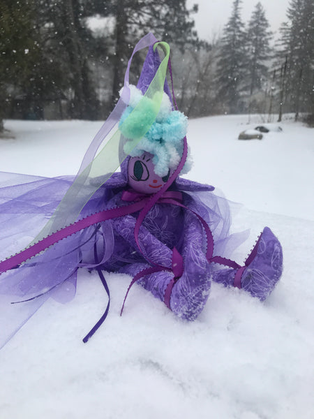 The Healing Hospital Fairy ~ Purple Dragonfly Emotional Support Fairy of Unicorn Square - Unicorn Square