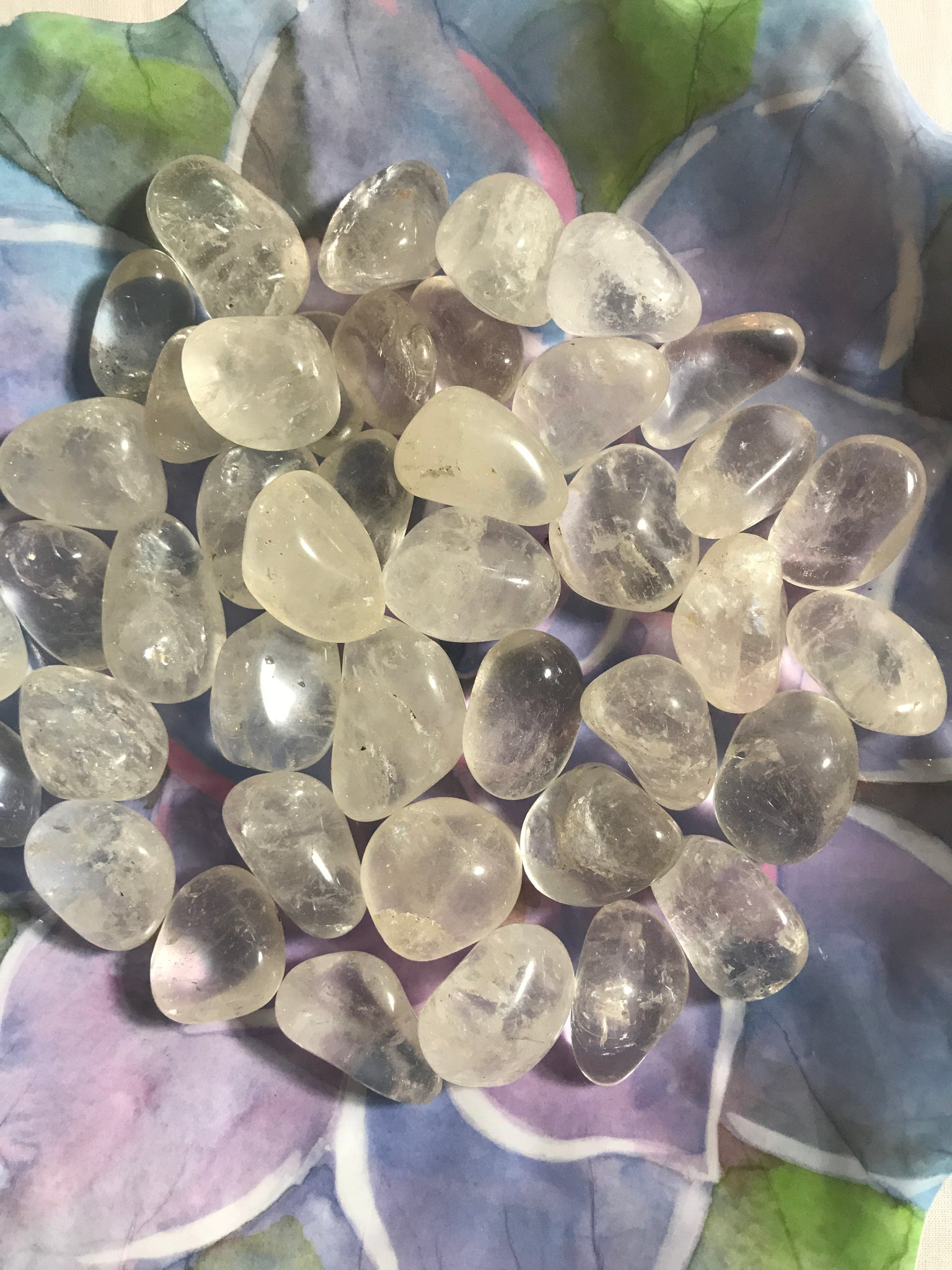 unicornsquare - Clear Quartz Tumbled Crystal - Crystal