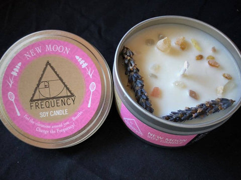 New Moon Soy Candle by Frequency