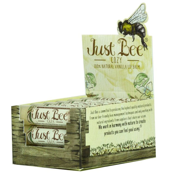 Just Bee Cozy Lip Balm  - Vanilla