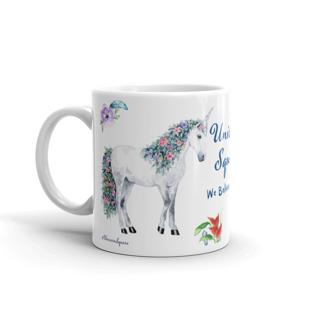 Unicorn Square Mug - Unicorn Square