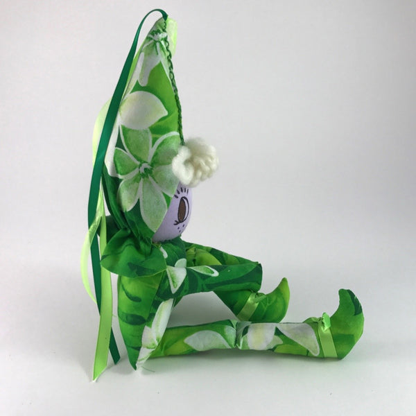 Green Plumeria Rainbow Fairy - Unicorn Square