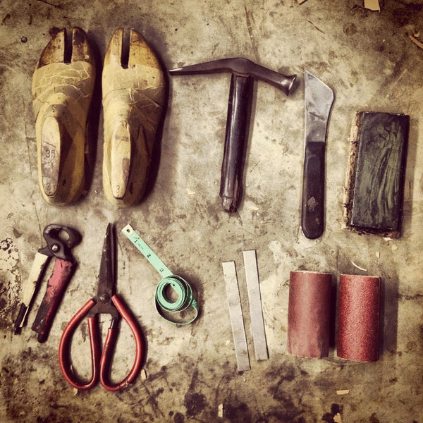 Leather shoes making tools
