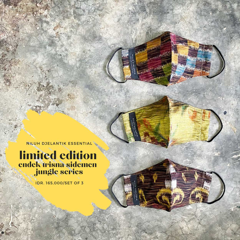 Leather-shoes-Endek 3 PLY COTTON MASK SET RAINBOW SERIES-Accessories-NILUH DJELANTIK-NILUH DJELANTIK