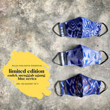 Leather-shoes-Endek 3 PLY COTTON MASK SET BLUE FEELIN SERIES-Accessories-NILUH DJELANTIK-NILUH DJELANTIK