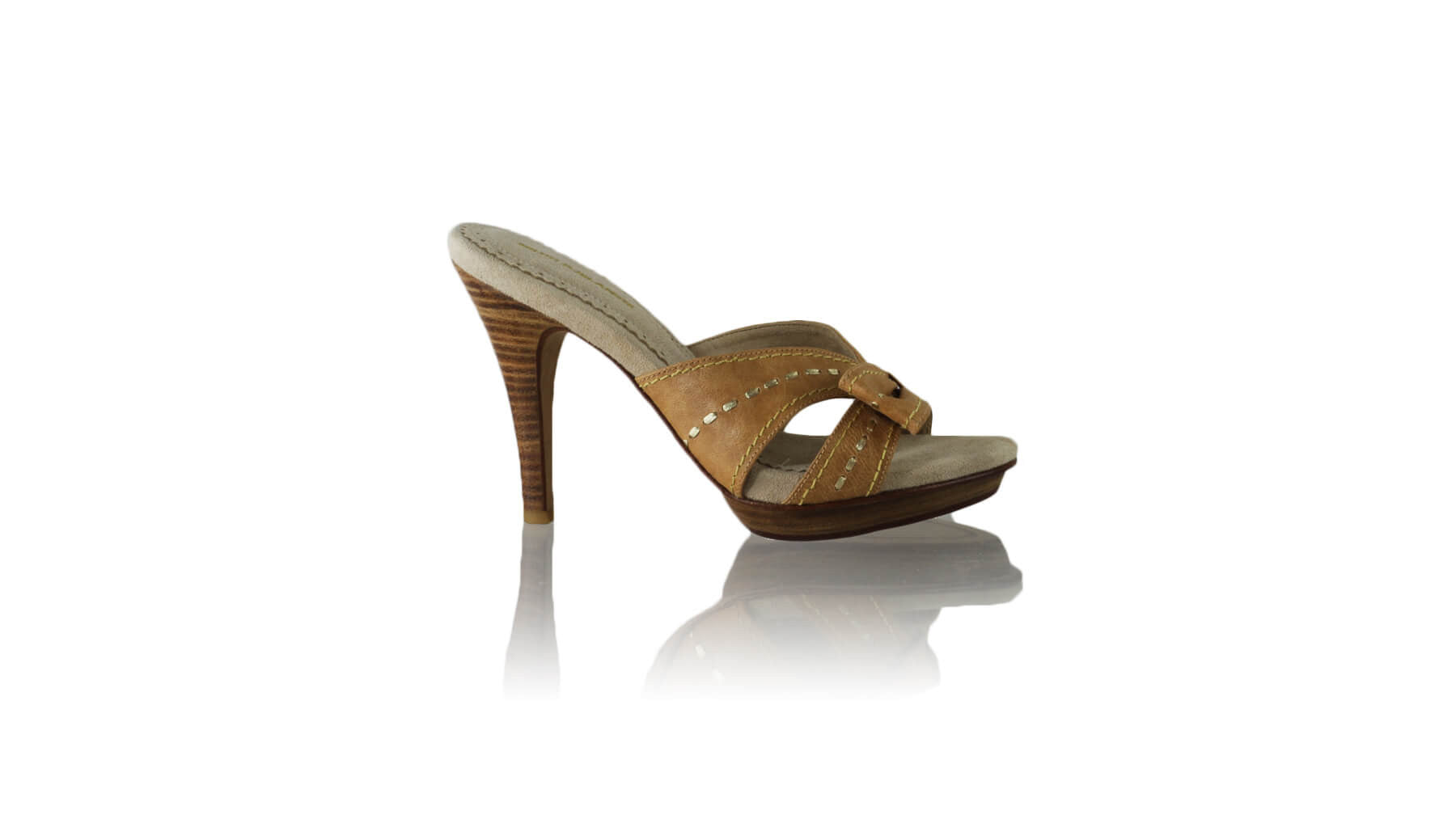 Leather-shoes-Sri 115mm PF - Brown & Gold-sandals higheel-NILUH DJELANTIK-NILUH DJELANTIK