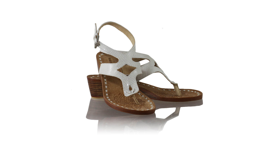 Leather-shoes-Agra 35mm Wedges - Cream Snake Print-sandals wedges-NILUH DJELANTIK-NILUH DJELANTIK