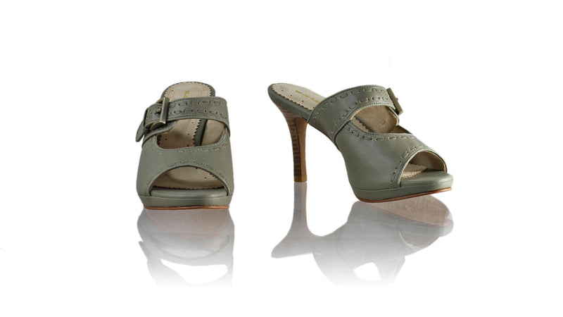 Leather-shoes-Alex 90mm SH PF - Grey-sandals higheel-NILUH DJELANTIK-NILUH DJELANTIK