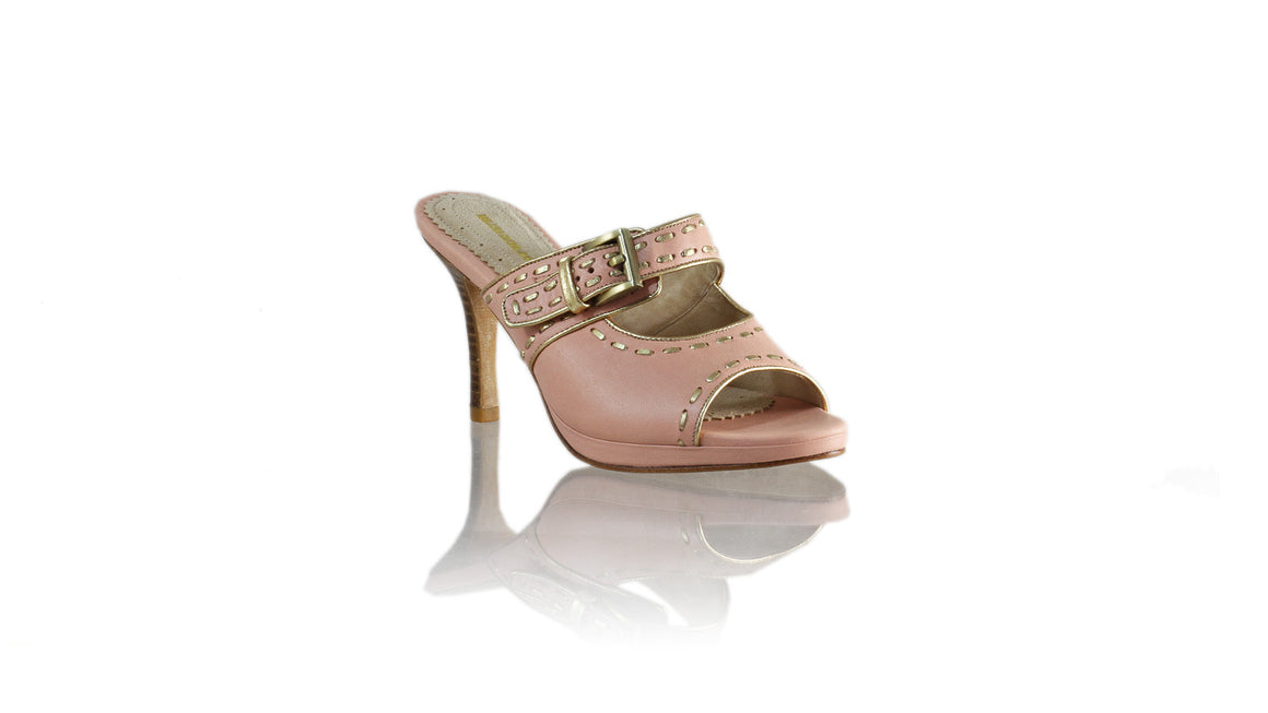 Leather-shoes-Alex PF 90mm SH - Soft Pink & Gold-sandals higheel-NILUH DJELANTIK-NILUH DJELANTIK
