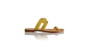 Leather-shoes-Andy Flats 20mm - Yellow-sandals flat-NILUH DJELANTIK-NILUH DJELANTIK
