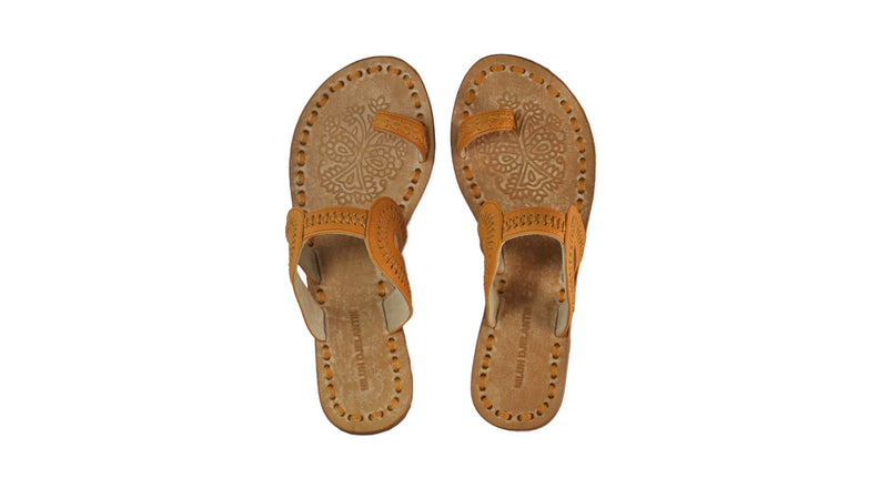 Leather-shoes-Andy 20mm Flat - All Tan-sandals flat-NILUH DJELANTIK-NILUH DJELANTIK