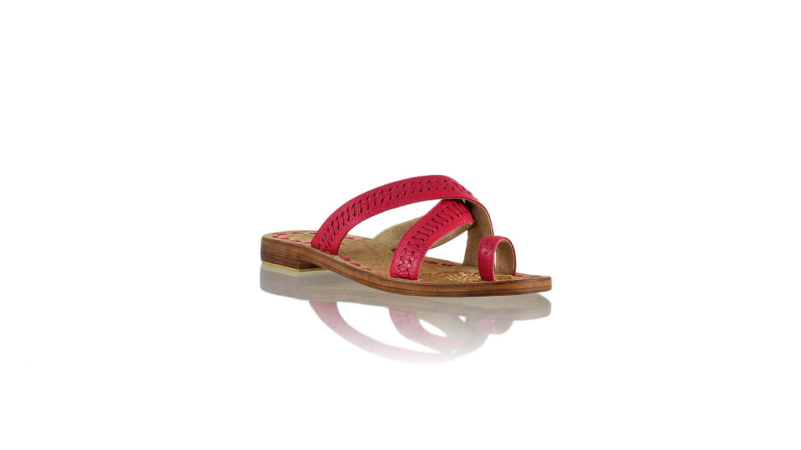 Leather-shoes-Batu 20mm Flat - Fuschia-sandals flat-NILUH DJELANTIK-NILUH DJELANTIK