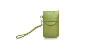 leather shoes Bonjour Flap Phone Case - Deep Lime Green, Accessories , NILUH DJELANTIK - 1