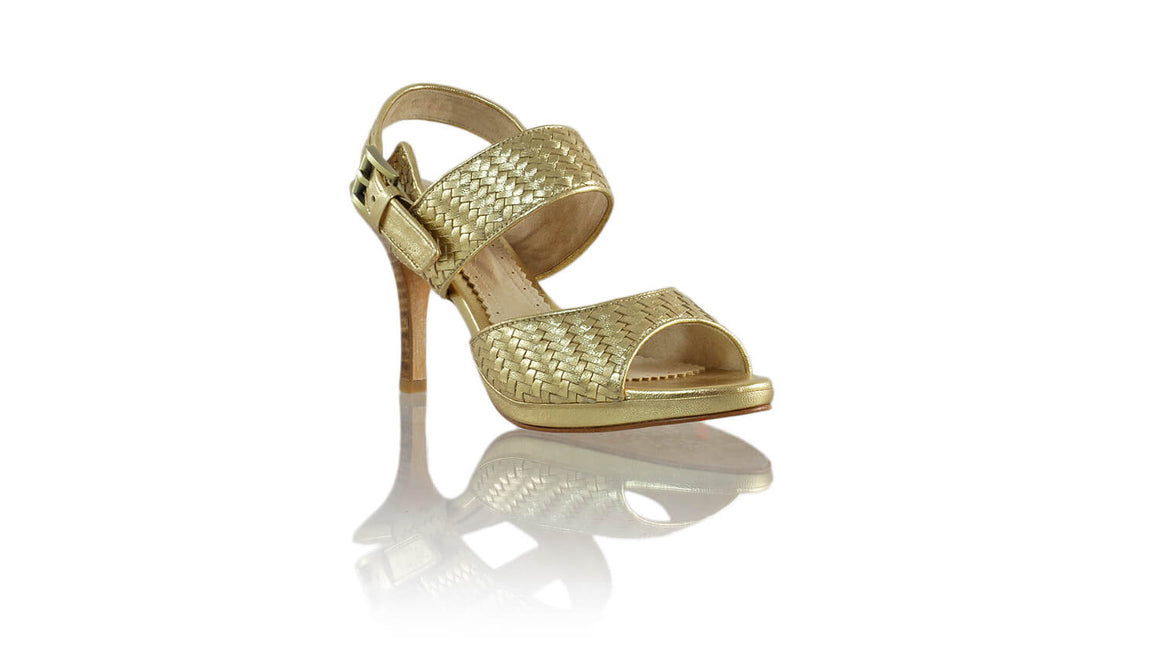 Leather-shoes-Danny PF 90MM SH - Gold-sandals higheel-NILUH DJELANTIK-NILUH DJELANTIK