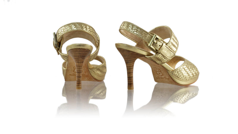 Leather-shoes-Danny 90MM SH PF - Gold-sandals higheel-NILUH DJELANTIK-NILUH DJELANTIK