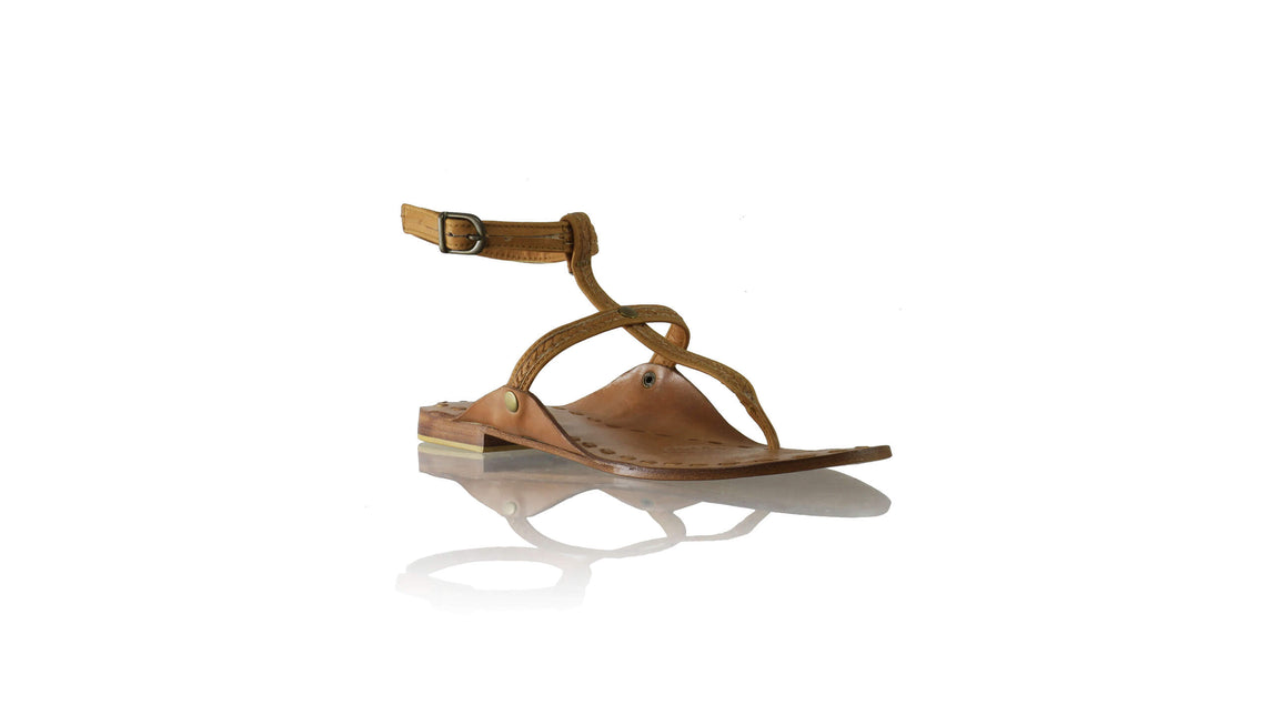 Leather-shoes-Daria 10mm Flat - Brown-sandals flat-NILUH DJELANTIK-NILUH DJELANTIK