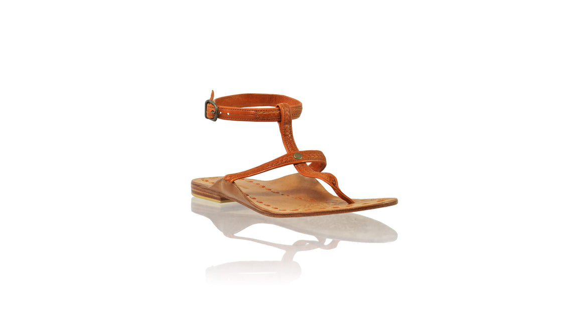 Leather-shoes-Daria 10mm Flat - Camel-sandals flat-NILUH DJELANTIK-NILUH DJELANTIK