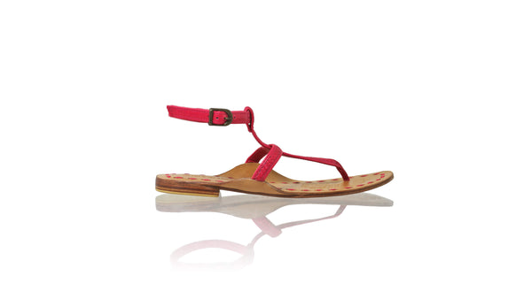 Leather-shoes-Daria 10mm Flat - Fuschia-sandals flat-NILUH DJELANTIK-NILUH DJELANTIK