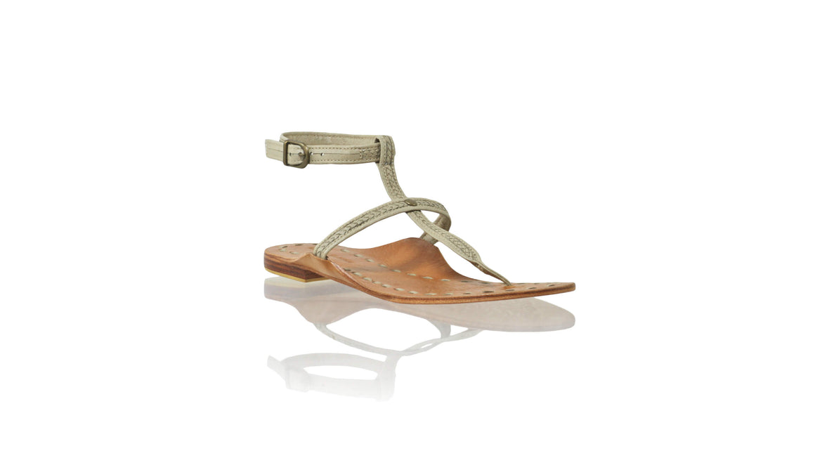 Leather-shoes-Daria 10mm Flat - Ivory-sandals flat-NILUH DJELANTIK-NILUH DJELANTIK