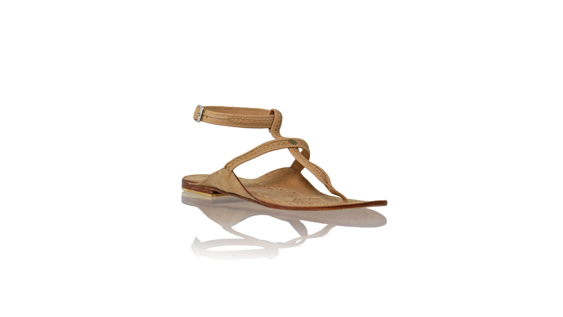 Leather-shoes-Daria 10mm Flat - Nude-sandals flat-NILUH DJELANTIK-NILUH DJELANTIK